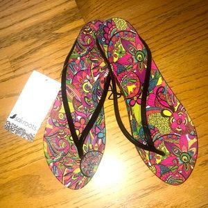 Sakroots Rainbow Spirit Desert Sandals